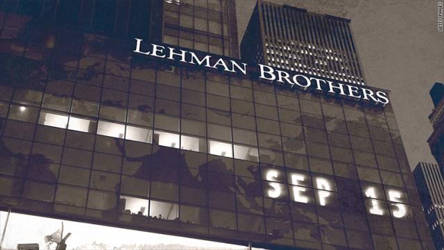 Lehman Brothers 2008 crisis