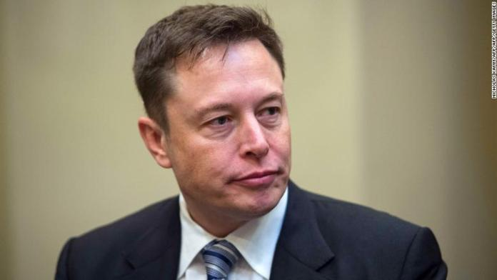 Elon Musk neutral expression
