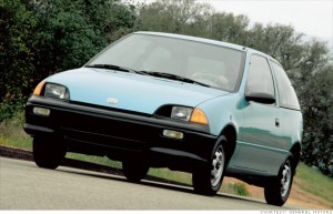 10 most fuel efficient cars since 1984  199094 Geo Metro