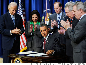 Obama tax package: 2010