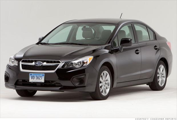Small car: Subaru Impreza