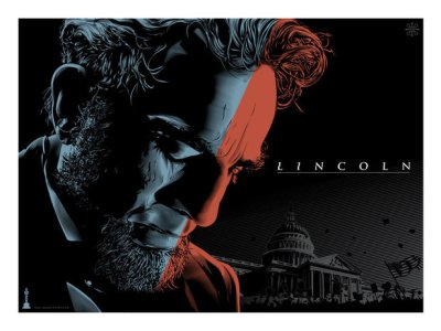 Jeff Boyes' artwork based on 2013 Oscars movie Lincoln