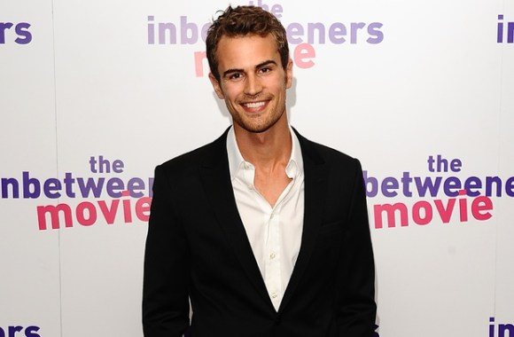 Theo James arriving for the world premiere of The Inbetweeners Movie, at the Vue Cinema, Leicester Square, London.