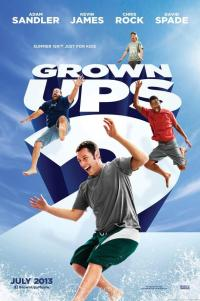 Poster for 2013 comedy film Grown Ups 2