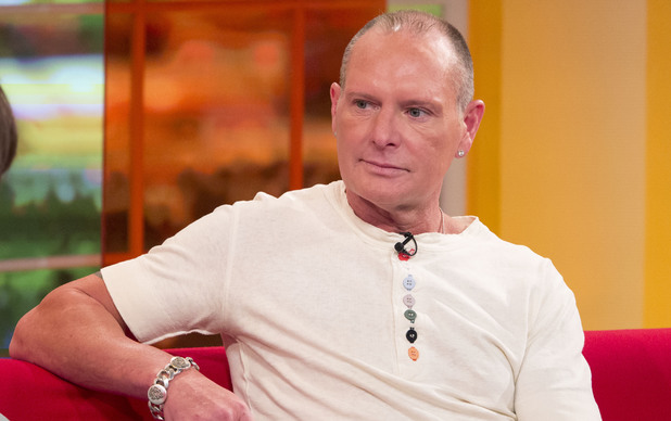 Paul Gascoigne is interviewed on 'Daybreak'