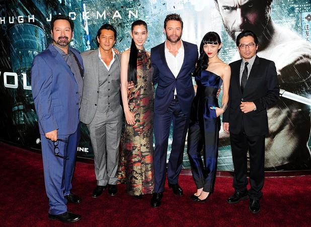 The Wolverine UK premiere