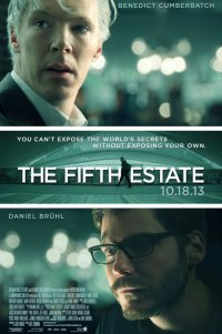 Poster for 2013 biopic The Fifth Estate