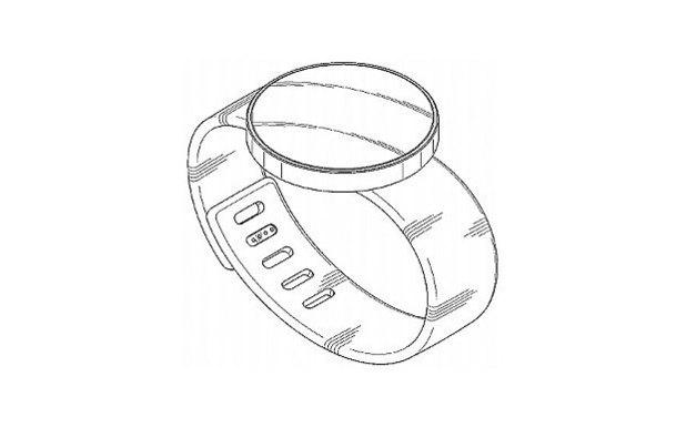 Patent design for Samsung's Gear Solo