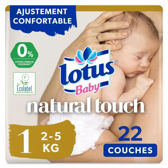 lotus baby touch 22 couches taille 1 de 2 a