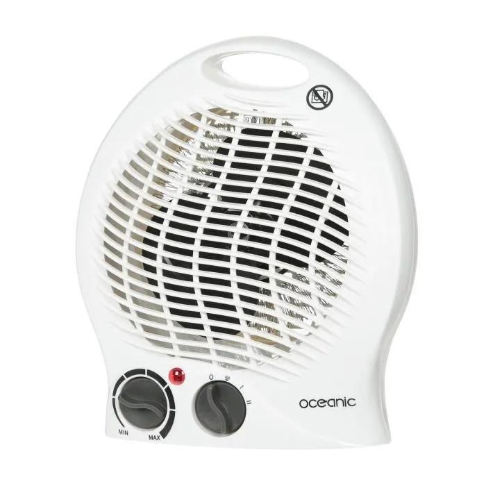 OCEANIC Chauffage Soufflant Ventilateur 2000 Watts 2