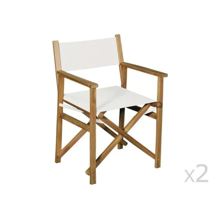 fauteuil jardin fauteuil metteur en scene en acacia fsc lot
