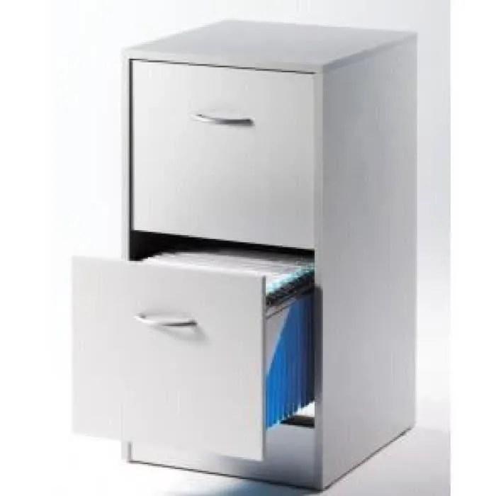meuble dossier suspendus 2 tiroirs