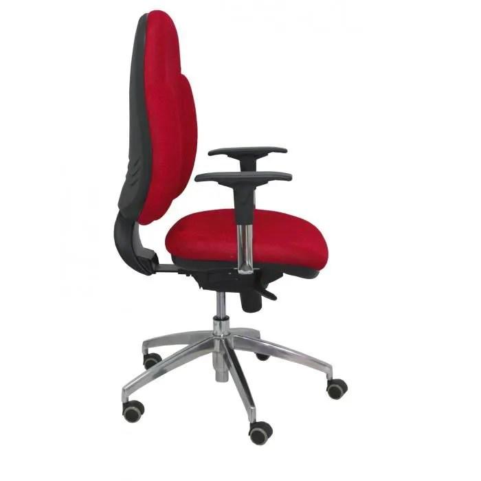 modele 18srj chaise de bureau ergonomique avec mecanisme synchrone bras reglables et reglable en hauteur dossier et assise