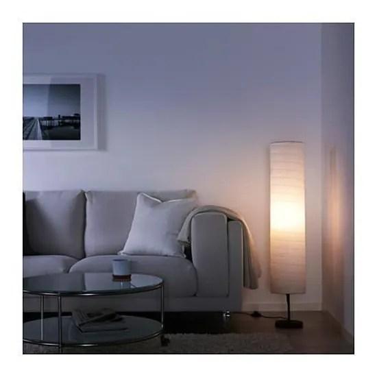 Ikea Lampadaire Papier Blanc Hauteur 116cm