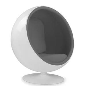fauteuil ball chair gris