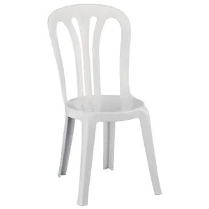 chaise resol multi purpose chaises empilables blanc lot