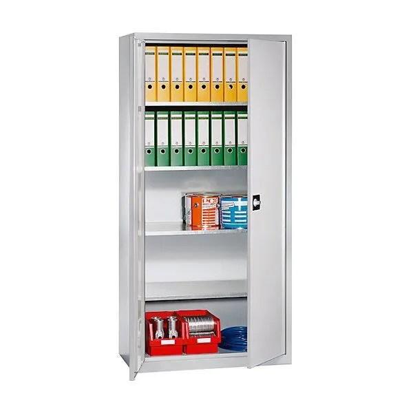 armoire de bureau eurokraft armoire d atelier h x l x p 1950 x 950