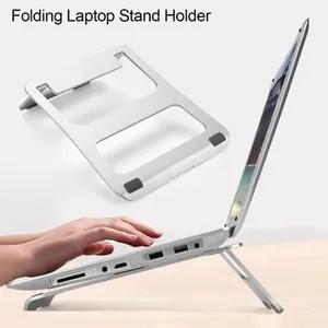 support pc et tablette support d ordinateur portable d alliage d aluminiu