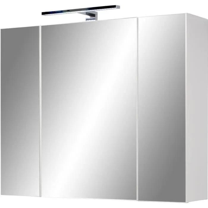 armoire miroir de salle de bains swithome color