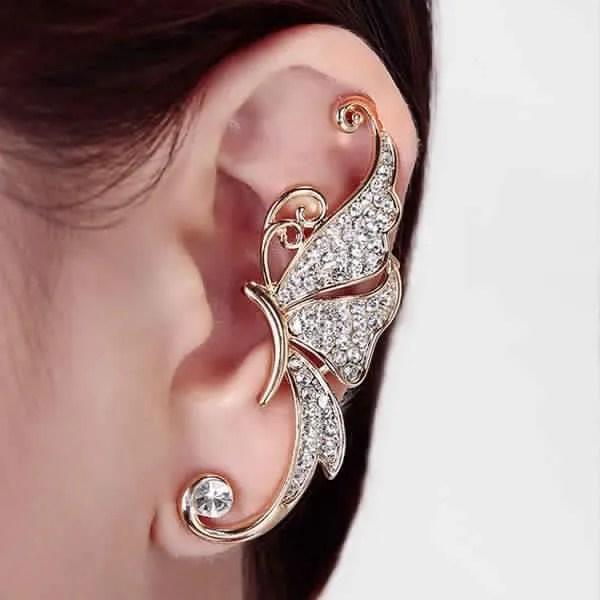Boucles d'oreilles manchettes