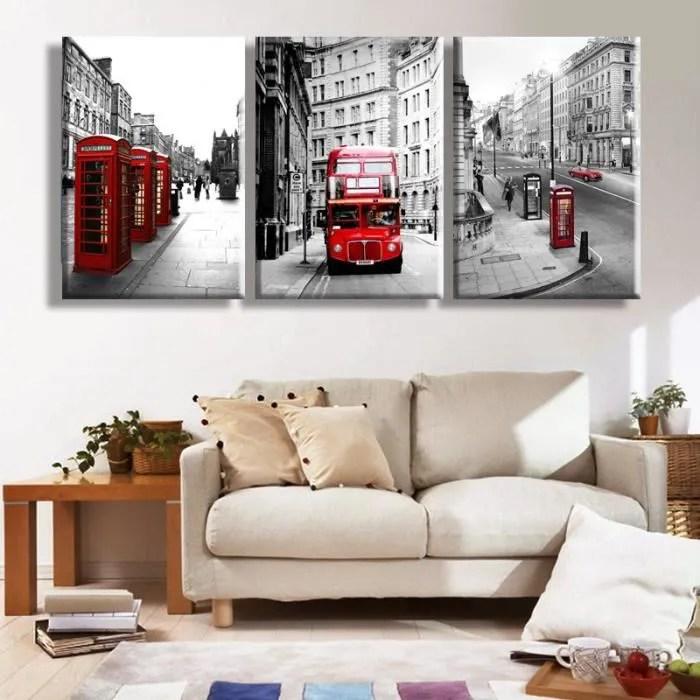 Affordable Peinture Murale Moderne London Landscape Home