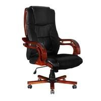 fauteuil fauteuil direction cro 251 te de cuir noir design