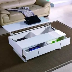 Table Basse Relevable Blanc Achat Vente Table Basse
