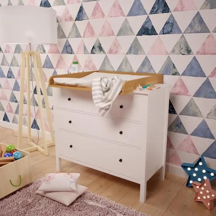 Plan à Langer Polini Kids Pour Commode Ikea Hemnes Couleur