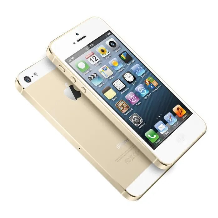 Iphone 5s reconditionne a neuf 32 go   Achat   Vente pas cher Apple iPhone 5S 32Go   D    bloqu       Or