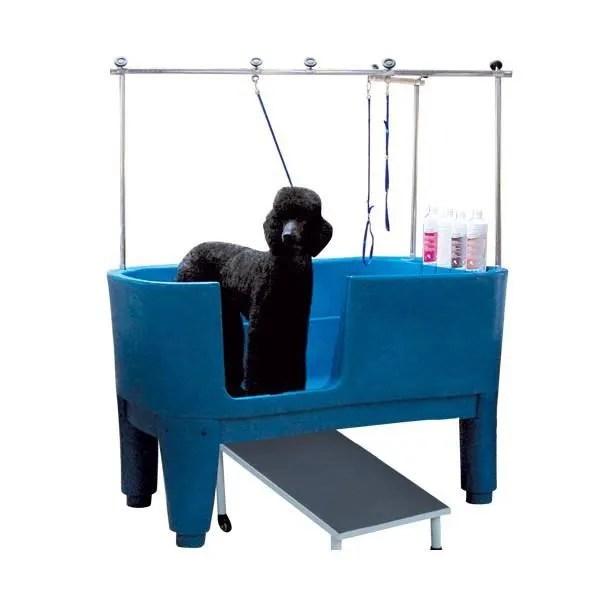 baignoire de toilettage baignoire polyethylene sur pieds chien neuf