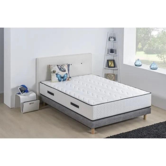 lit complet avec sommier et matelas 160x200