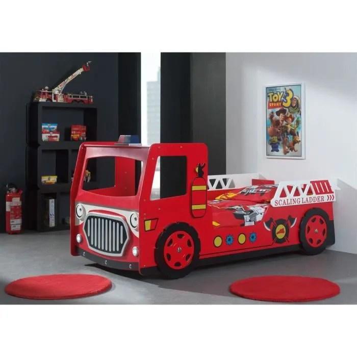 FUN BEDS Lit Enfant Pompier Avec LED Achat Vente