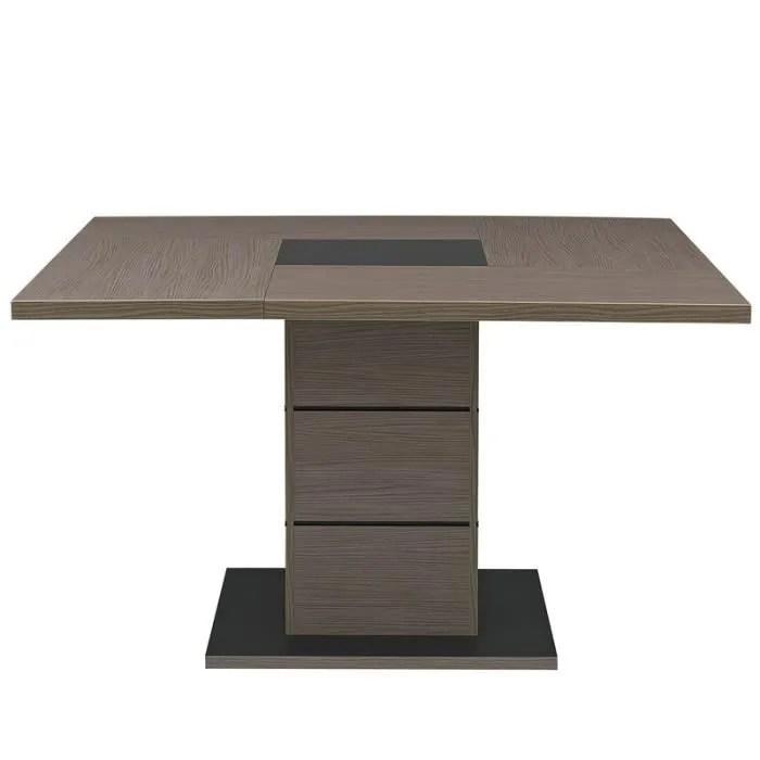 Table De Repas Carre Chne Crus HANNY L 130 X L 130