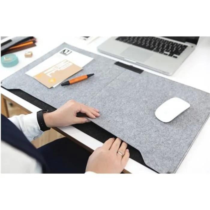 feutre pochette pour ordinateur portable tapis de bureau durable moderne table felt bureau tapis de bureau tapis de souris porte