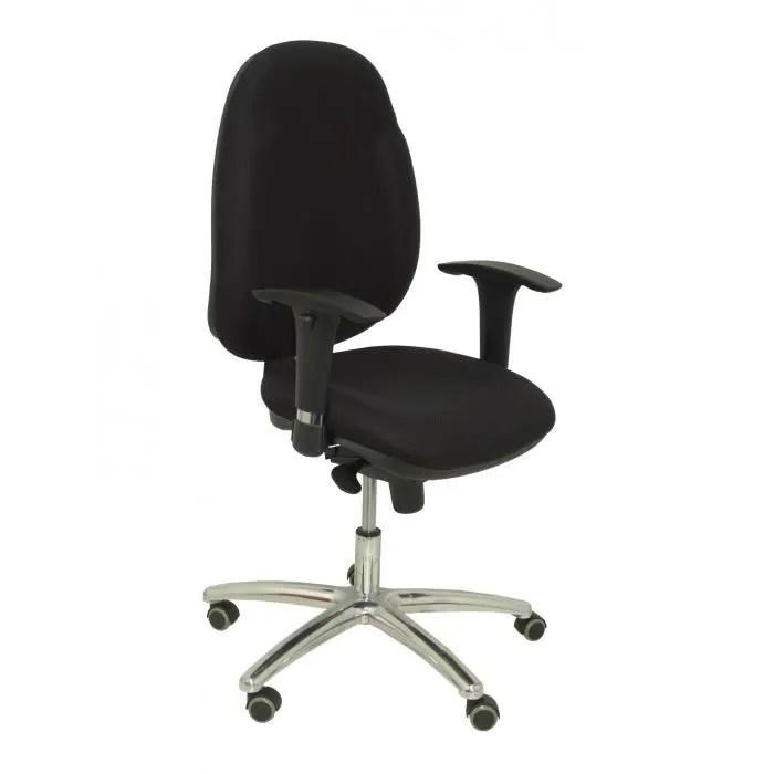 modele 18sne chaise de bureau ergonomique avec mecanisme synchrone bras reglables et reglable en hauteur dossier et assise