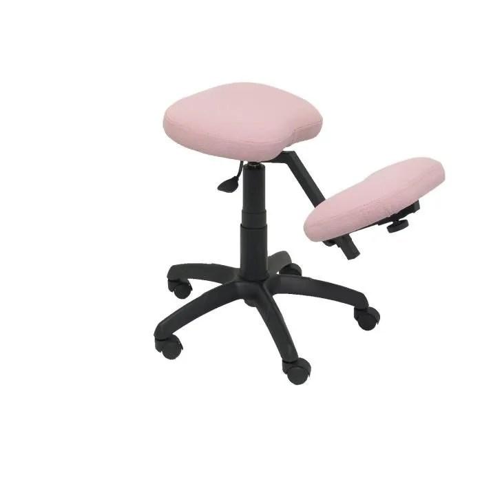piqueras y crespo modele 37g tabouret de bureau ergonomique pivotant et reglable en hauteur