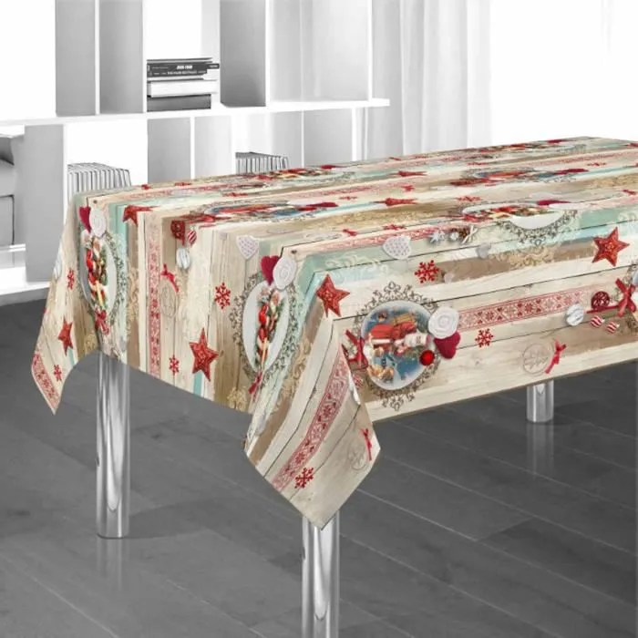Nappe Noel Jetable Good Perfect Ikea Nappe Toile Ciree
