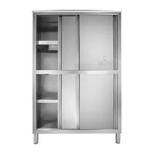 elements haut armoire cuisine professionnelle inox 4 etages 50 x