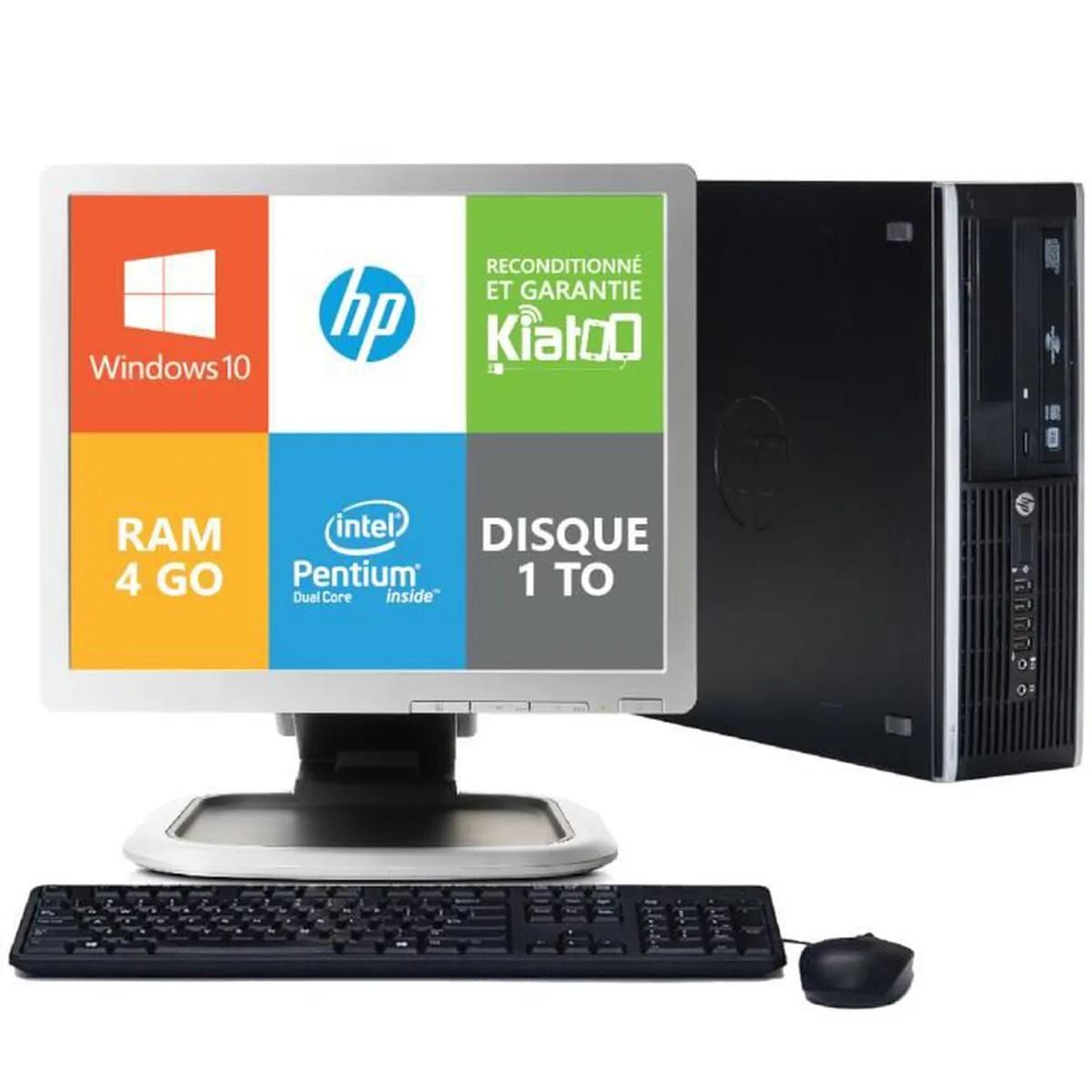 Ordinateur De Bureau HP Elite 8200 Dual Core 4go Ram 1to