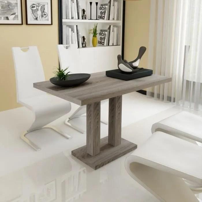 table basse a manger pour salle a manger ou cuisine diner salon en chene mdf solide 120 x 70 x 75 cm
