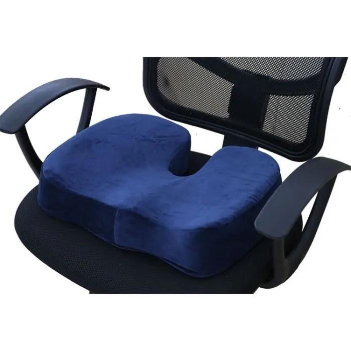 epaissir la mousse a memoire de forme chaise de bureau le coccyx coussin oreiller orthopedique chaises deco coussins bureau voiture