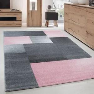 tapis rose gris enredada