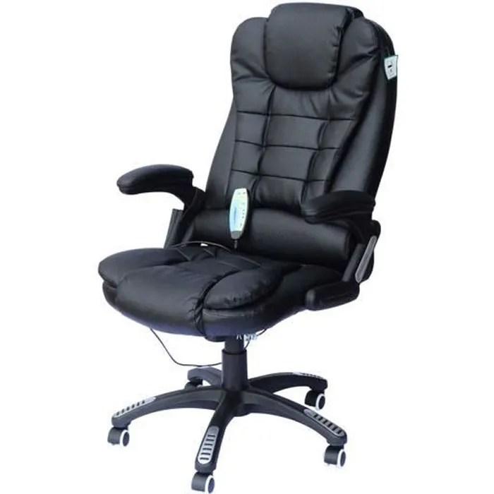 Chaise De Bureau Pivotante Fauteuil Direction De Massage