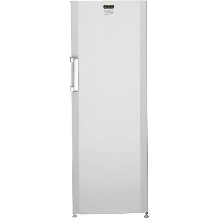 beko fs127320 congelateur armoire 237l froid statique a l59 5 x h 171cm blanc