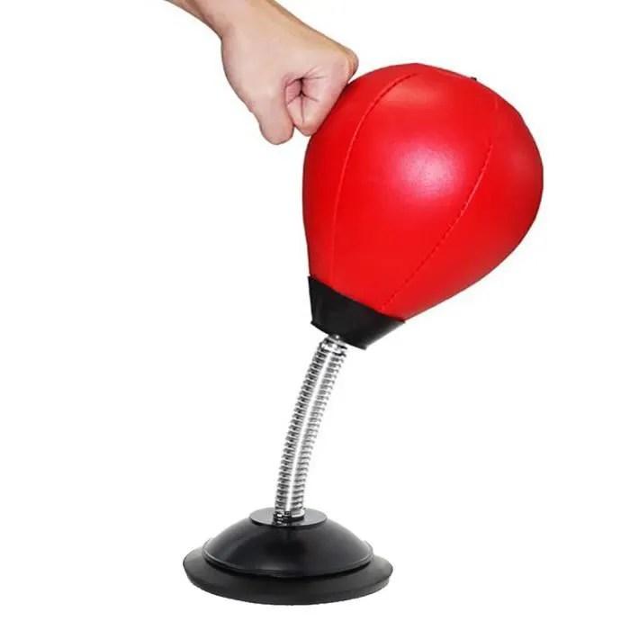 sac de frappe balle boxe punching ball bureau entrainement speed poire boule boxe reflexe vitesse fitness emotionnel jouet cadeau