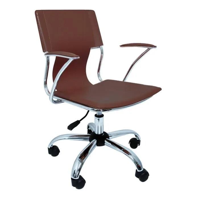 piqueras y crespo modele 214 chaise de bureau ergonomique avec bras fixes reglable en hauteur et pivotant a 360 degres