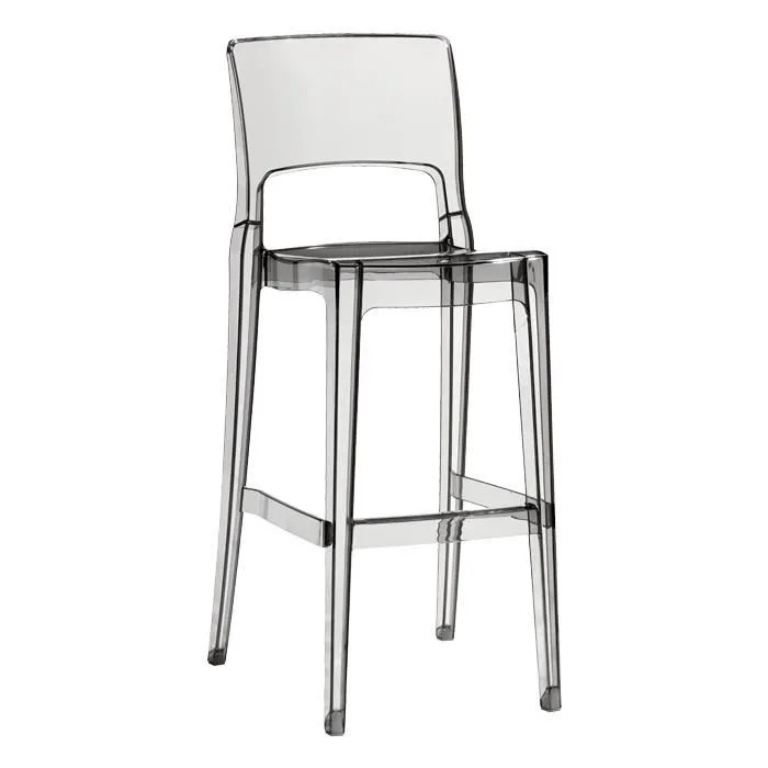 Tabouret De Bar Design Transparent ISY ANTISHOCK