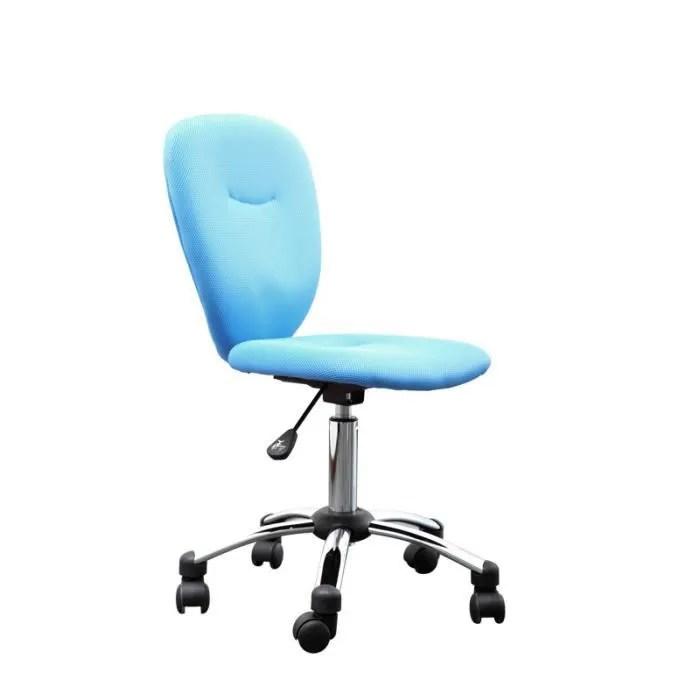 Miliboo Chaise De Bureau Enfant Bleue LIZZY Achat