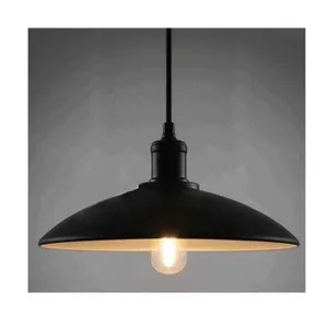 lustre et suspension abat jour suspension noir metal lampe suspension l
