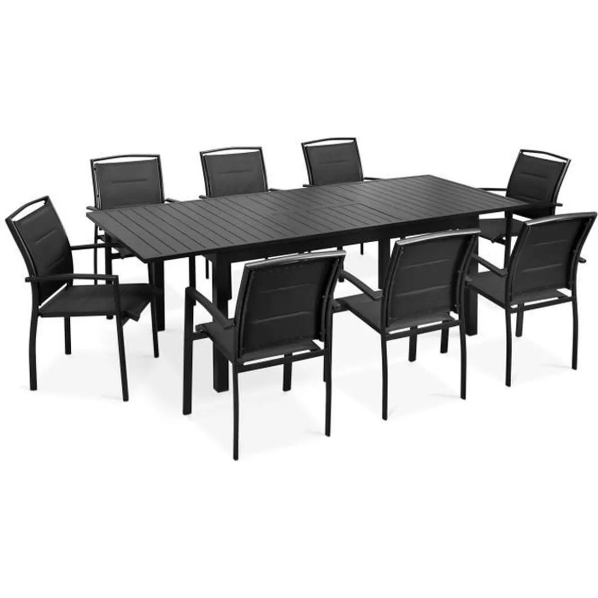 Salon De Jardin Table Extensible - Novocom.top
